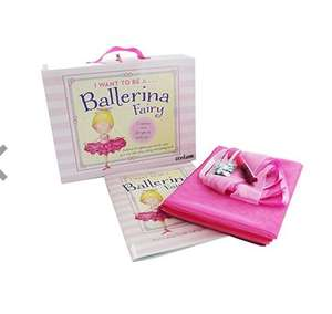 I Want To Be A Ballerina Fairy - Costume and Book £3 @The Works Free C&C