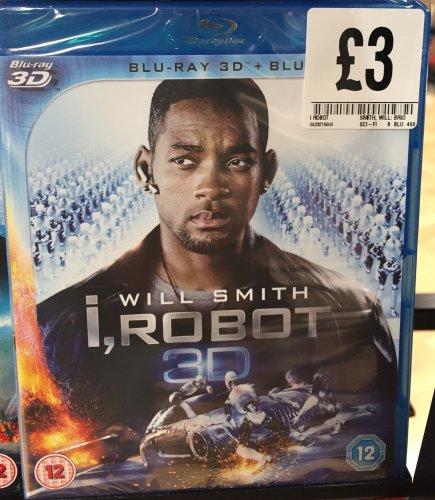 I, Robot 3D Blu-Ray (Inc 2D Blu-Ray) - £3 - Plus others @ FOPP Instore