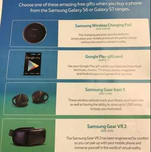 Free gift worth up to £199RRP when buying a Tesco Mobile Samsung S6 or S7 range phone from £25p/m @ Tesco mobile