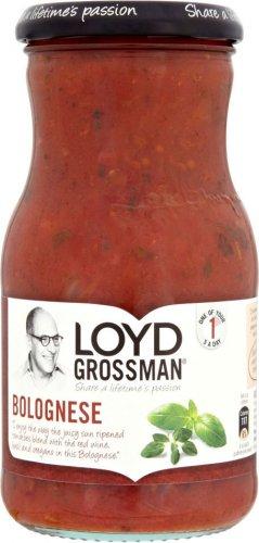 LOYD GROSMAN BOLOGNESE SAUCES 425g 69p @ HERON FOODS