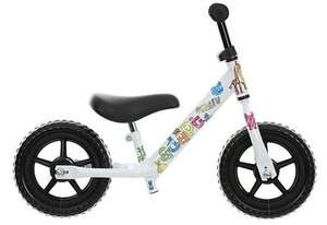 "Indi Adapt Kids Balance Bike Bicycle with Stickers 10"" Inch Wheels Steel Frame  £19 @ Halfords ebay outlet"
