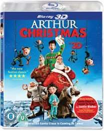 Arthur Christmas (Blu-ray 3D + UV Copy) £2.63 Delivered @ dodax-online-uk Via Amazon (£2.24 Direct From Music Magpie With Code)