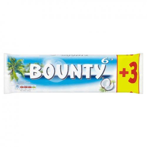 BOUNTY 9 x 28.5g (256.5g) £1 instore Iceland