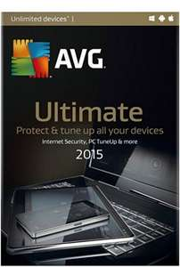 AVG Ultimate Amazon PC Download £3.60 12 Months & Unlimited Devices