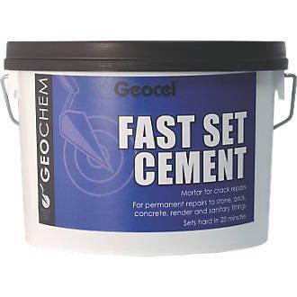 Geocel Fast Set Cement 3kg was £8.59 now £3.59 @ Screwfix – free c&c