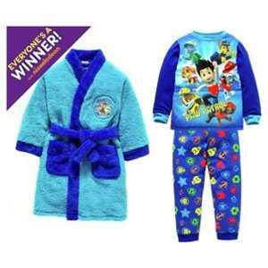 Robe & Pyjama Sets Including Batman, Paw Patrol, Peppa Pig, Frozen, Marvel & My Little Pony now £16.66 at Argos