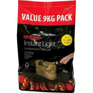 Bar-Be-Quick 9kg X6 Bags Instore £14.99 @ Homebase