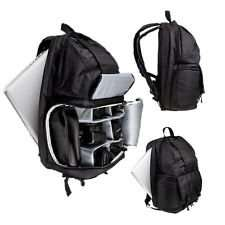 7dayshop DSLR Photo Camera Backpack Rucksack Inc LAPTOP Pocket for Camera & Gadgets - Black £22.98 delivered