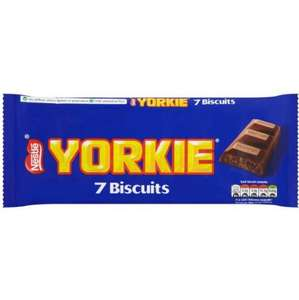 Nestle Yorkie Biscuits 7 Pack 25p at Poundstretcher
