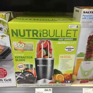 Nutribullet £64.93 @ Homebase