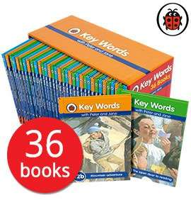 Ladybird learning to read (Peter & Jane) £27 with code delivered @ The book people