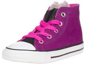 Toddler Converse High Tops £8 + £4.95 P&P. Loads of other converse on sale too at Panache Kids