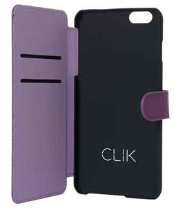 Clik iPhone 6 Plus/6s Plus Folio Case - Purple £1.49 @ Argos