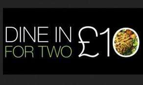 dine in for two plus free wine £10 @ M&S