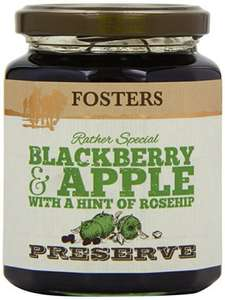 Amazon S&S Fosters Blackberry and Apple with a Hint of Rosehip Preserve 340 g (Pack of 3) £2.20