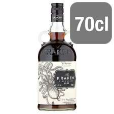 Kraken Spiced Rum 70cl £17 @ Morrison's