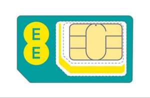 EE Sim only - Unlmtd Mins & SMS, 16GB 4G £19.99 month + £70 Amazon with code