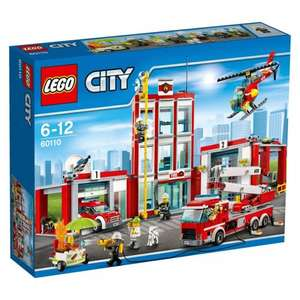 Lego City Fire Station 60110 £44.98 Asda
