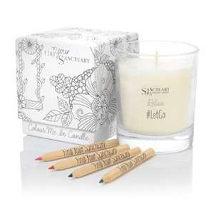 Free Sanctuary Spa Colour Me In Candle (worth £10) wys £11 on Sanctuary Products @ Boots