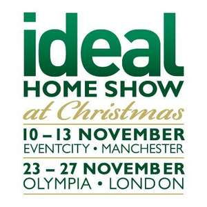 FREE tickets to the Ideal Home Show at Christmas 2016 (Code: Xmas6)