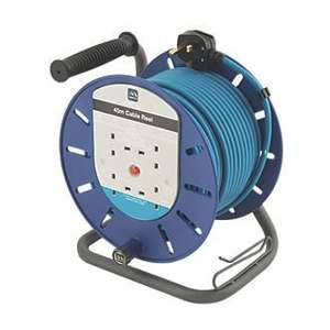 masterplug cable reel 45m  £26.99 @ screwfix - Free c&c