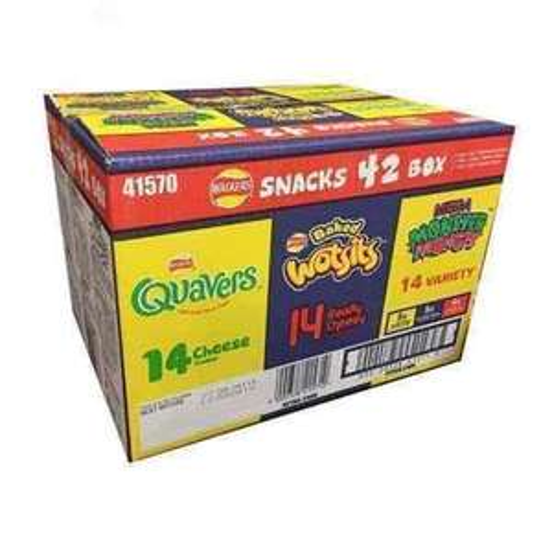 Walkers 42pk Variety Snack/Crisp Box £3.58 - Costco (8.5p a bag!)