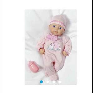 My First Baby Annabell Doll £7.50 instead of £15.98 at Tesco direct