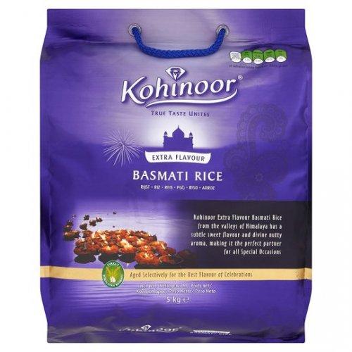 Kohinoor Extra Flavour Basmati Rice 5Kg £4 Tesco