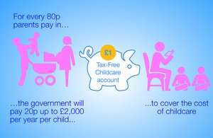 Be ready for Tax-Free Childcare