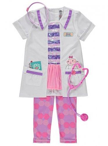 Disney Doc McStuffins Fancy Dress Costume £12.50 Asda