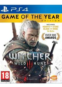 The Witcher 3: Wild Hunt GOTY PS4 £25.85 @ simply games