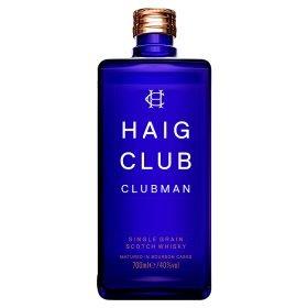 Haig Club Clubman Single Grain Scotch Whisky 70cl  £15.00  Asda/Tesco