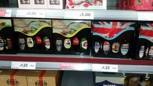 loads of alcoholic xmas gift sets only £1.25 at Tesco