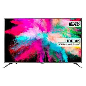 "10-bit panel + 1000 Hz refresh rate Hisense 55M5500 LED HDR 4K Ultra HD Smart TV, 55"" With Freeview HD & Anyview Cast, Silver (NEW Model) £699.99 @ John Lewis"