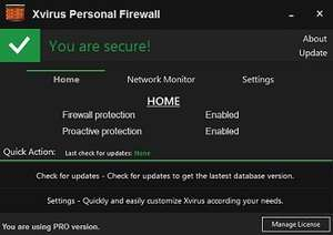 Xvirus Personal Firewall PRO [for PC]