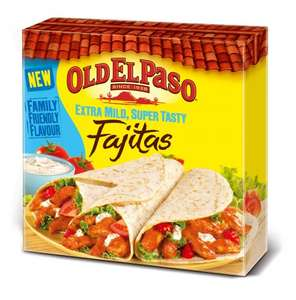 Old El Paso Fajita Kits reduced to 49p at Aldi, South Norwood