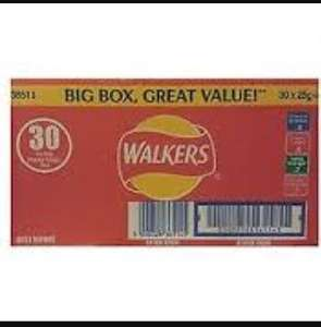 Walkers variety box 30pack for £3.00 @ Morrisons