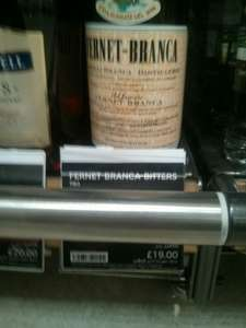 Fernet Branca 70cl £19 in-store @ M&S Pudsey