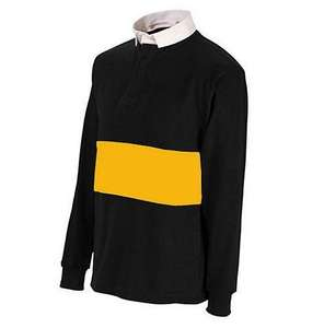 Uwin Black / Amber Reversible Men's Long Sleeved Rugby Shirt Size 34-40 £4.20 @ Tesco Direct / uksportswarehouse. Includes free home delivery