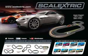 Micro Scalextric James Bond set halfprice @ ASDA £22.50+ free c&c