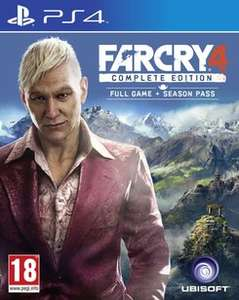 Far Cry 4 Complete Edition PS4 £14.99 @ GAME
