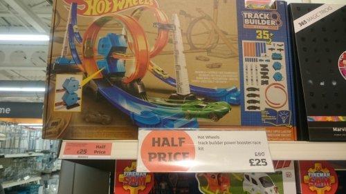hot wheels track builder power race set half price £25 @ Sainsburys