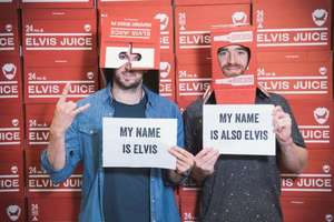 Free BrewDog Elvis Juice beer if your name is Elvis