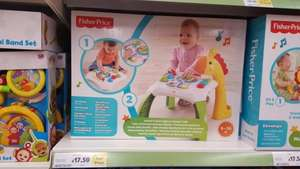 Fisher Price Animal Friends Learning Table £17.50 @ Tesco - Watford