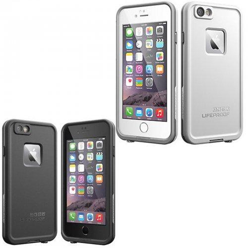"IPHONE 6 / 6S LIFEPROOF CASE SHOCKPROOF/WATERPROOF COVER (4.7"") BLACK/WHITE £23.49 toptradesuk / Ebay"