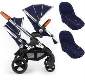 iCANDY DOUBLE PRAM BLOSSOM £955 @ Just kidding
