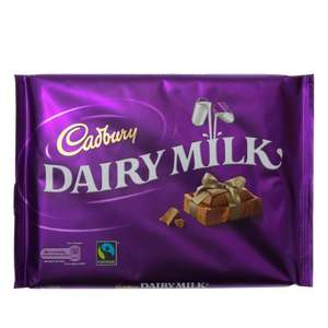 Cadbury's Dairy Milk 360g £2.50 @ Spar 12 deals of Christmas