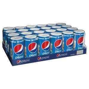 Pepsi / Pepsi Max / Pepsi Diet (24 x 330ml) ONLY £5 @ Iceland