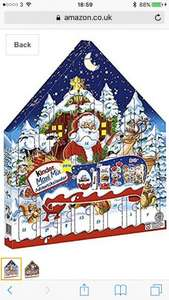 Kinder advent calendar 350g £16.90 delivered amazon Germany