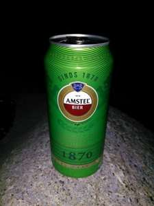 Amstel beer 4 cans for £2.13 Tesco